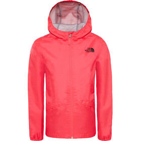 The North Face Zipline Rain Jacket Girls atomic pink